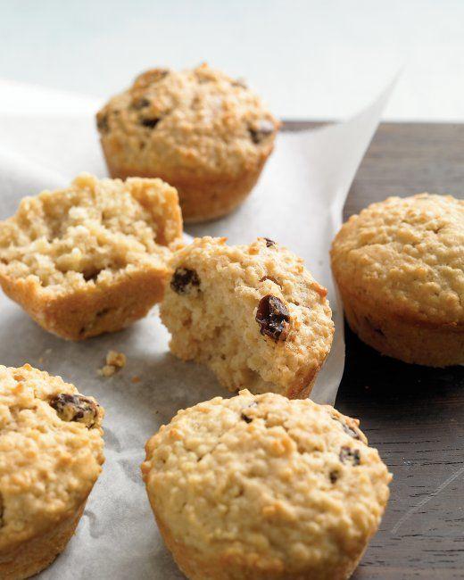 Martha Stewart Quinoa Muffins - sub applesauce for oil, half whole wheat flour, cranberries for raisins, add zest of 1 orange