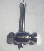 Modern Viking jewelry - Stainless steel Beta ray bill stormbreaker hammer axe pendant