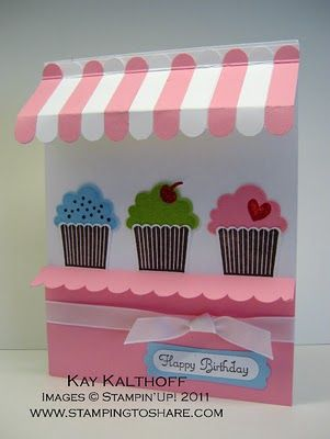 Stamping to Share: 3/27 Stampin' Up! Create a Cupcake Bakery