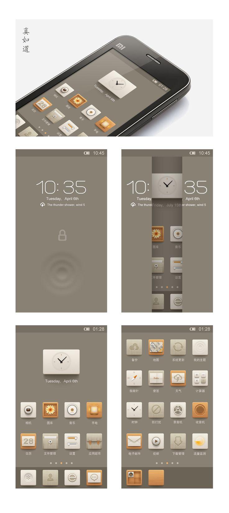 Nice theme #UI #Design #app #icons