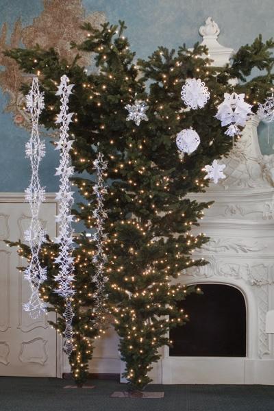 White Christmas Tree Prelit