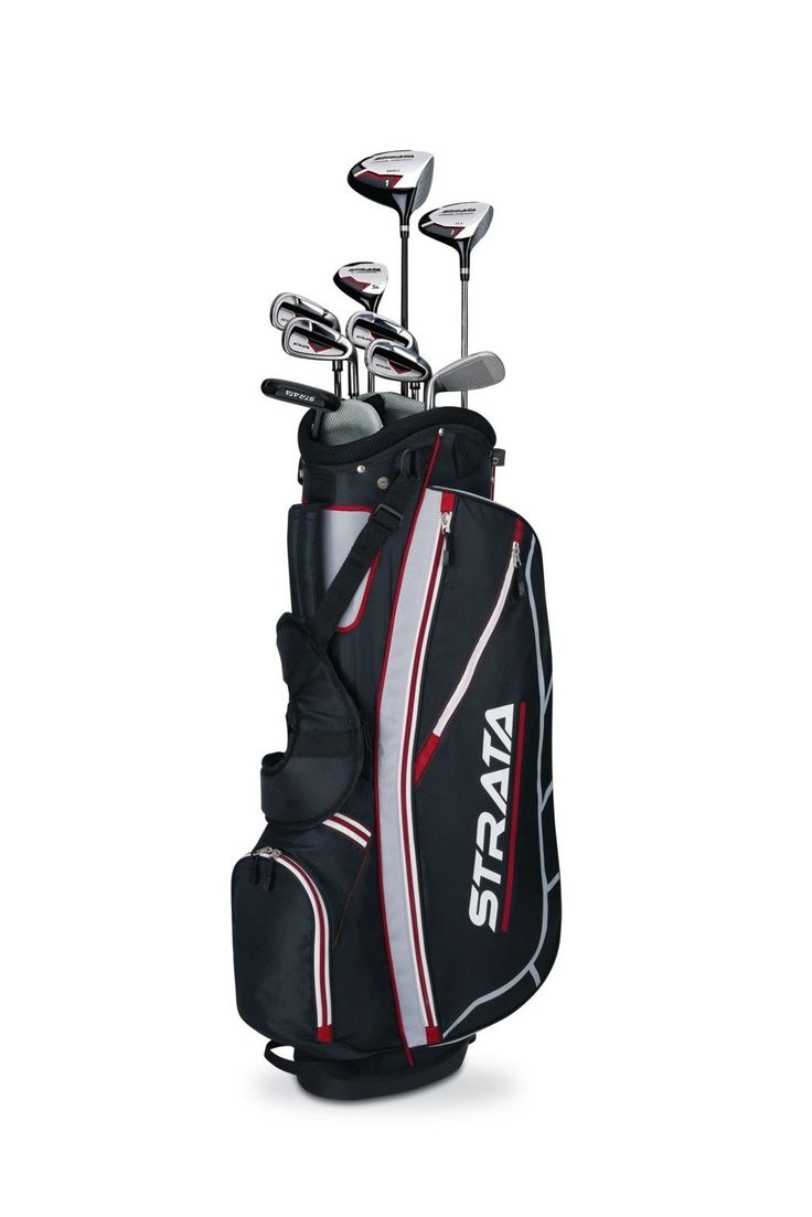 Men's Strata Set 12-Piece Right Hand Callaway Iron Wedges Putter Stand Bag Golf #all-proceeds-go-to-the-disabled