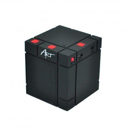 Boxa Portabila Bluetooth Cube 3W - Black