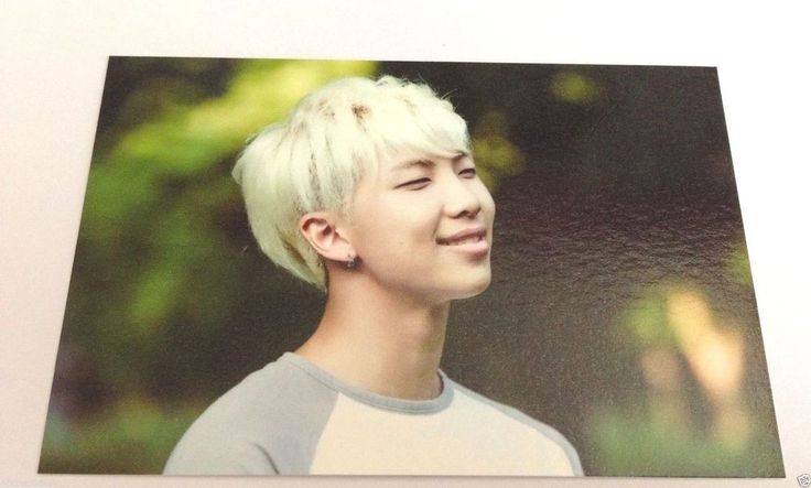 BTS Official MD ZipCode 17520 Rap Monster #4 Photo Card Bangtan Boys 2nd Muster