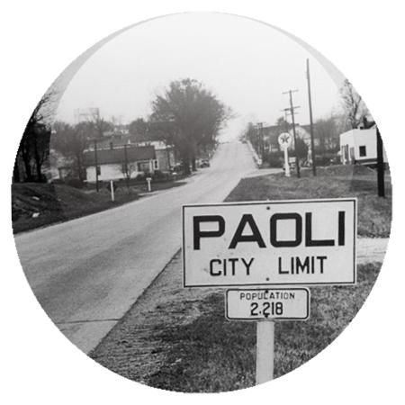 Paoli city, USA