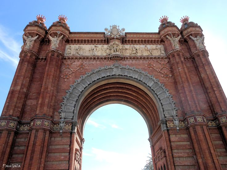 21 best arc de triomf barcelona images on pinterest bow jean arc de triomf arco de triunfo barcelona malvernweather Images