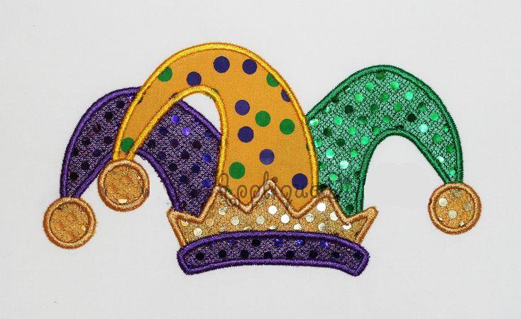 Mardi Gras Jester Hat - use as template
