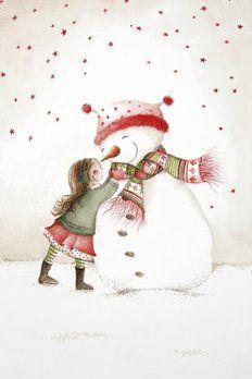 Nieuwjaarsbrief Uitgeverij Ikko illustratie An Melis