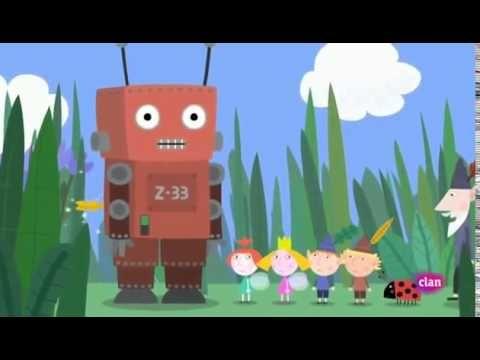 Ben y Holly en español. El robot de juguete.