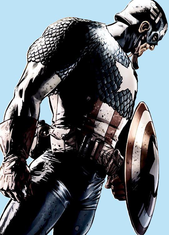 Cap in Captain America: Reborn #1