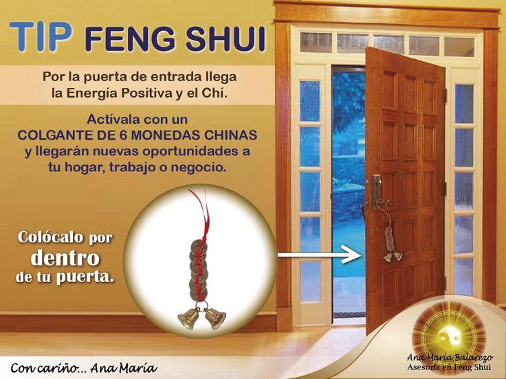 Deja entrar el Buen CHÍ y las nuevas oportunidades. Activa la puerta de entrada con este colgante de monedas chinas, potente activador para fluir la Energía Positiva.