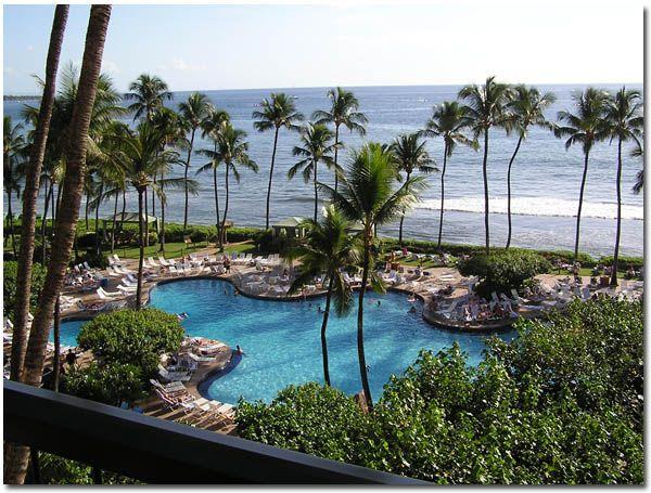 Hyatt in Maui, Hawaii