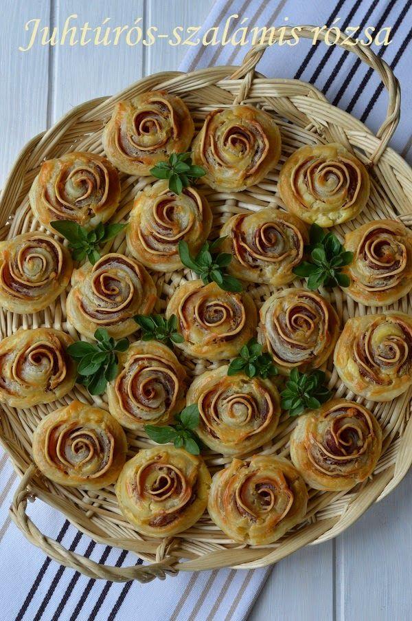 Hankka: Juhtúrós-szalámis rózsa