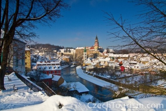 UNESCO World Heritage Český Krumlov in Czech Republic. #CzechTourism