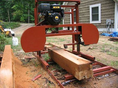 """Sawmill Portable Bandsaw mill KIT 36"""" X 16'  $1,295.00 picture Included."""