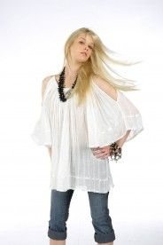 Cheesecloth cold | Blouses-Jackets :: grimani-shop.gr