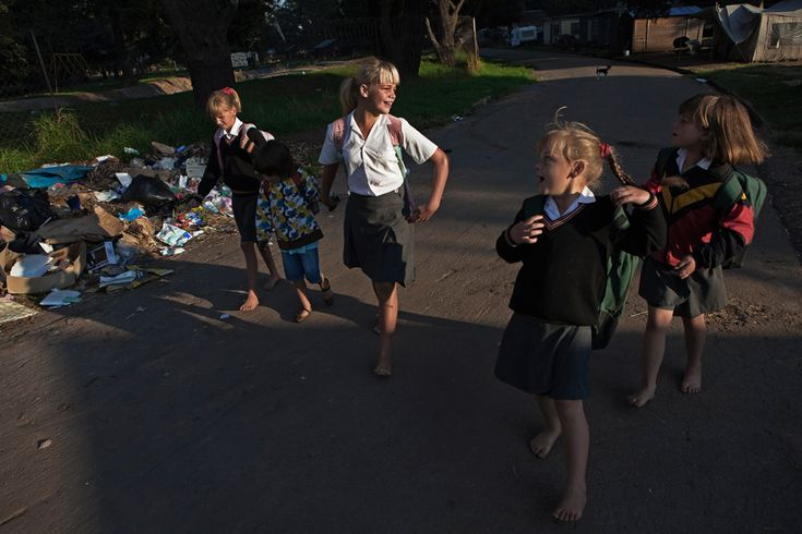 Poverty within white South Africa