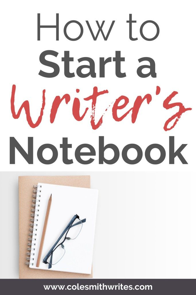 How To Start A Writer S Notebook Writers Notebook Writing