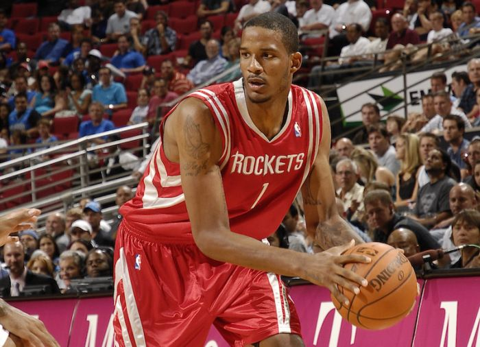 Another One: Houston Rockets Baller Trevor Ariza Gets Ganked For $50,000 In L.A. Home Invasion [Video] -  Click link to view & comment:  http://www.afrotainmenttv.com/another-one-houston-rockets-baller-trevor-ariza-gets-ganked-for-50000-in-l-a-home-invasion-video/