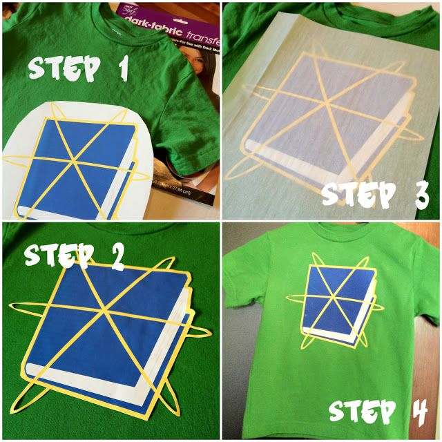 Super Why shirt and cape iron on transfer paper instructions