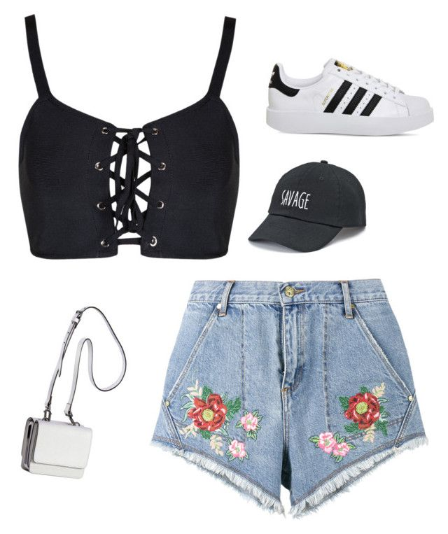 """Summer"" by iuliacalin on Polyvore featuring House of Holland, adidas, SO and Kendall + Kylie"