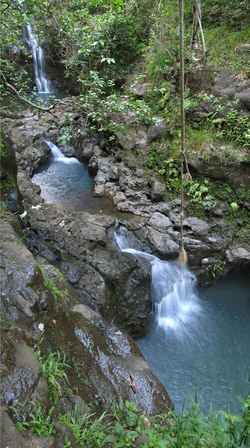 THE DROWNING POOL  North Shore Hawaii  Reported to be haunted