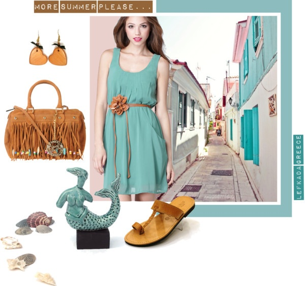 """More summer please... :)"" by antigoni-pagali on Polyvore"