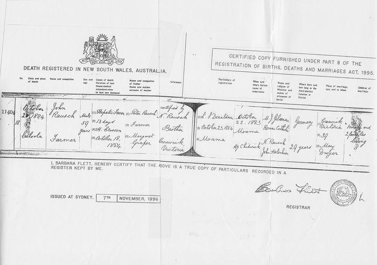 John Rausch - View media - Ancestry.com.au