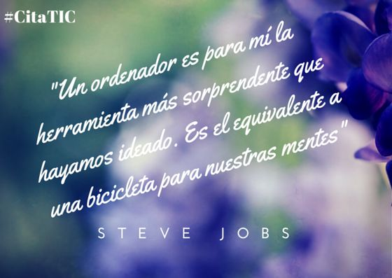 Cita de Steve Jobs