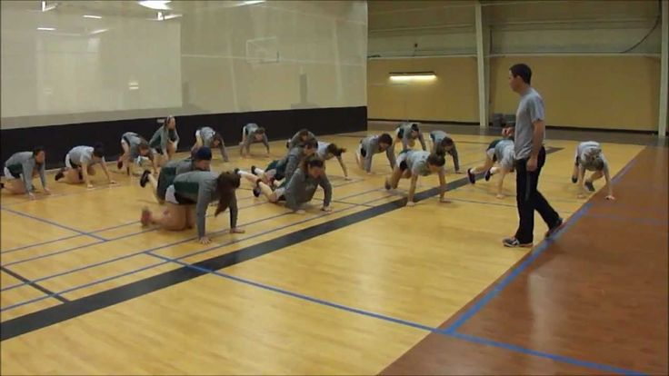Youth Fitness Balance Games.  Scramble to Balance is an activity that is not only fun but helps develop systemic strength, coordination, balance and reactivity. There are unlimited variations. Be creative and make it your own. Not only will your students and athletes enjoy it but they will develop a foundation in athleticism too.