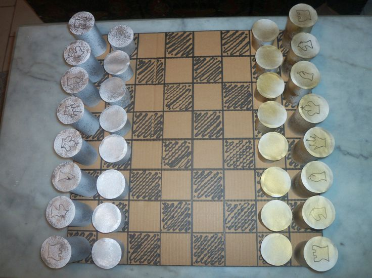 recycled chess