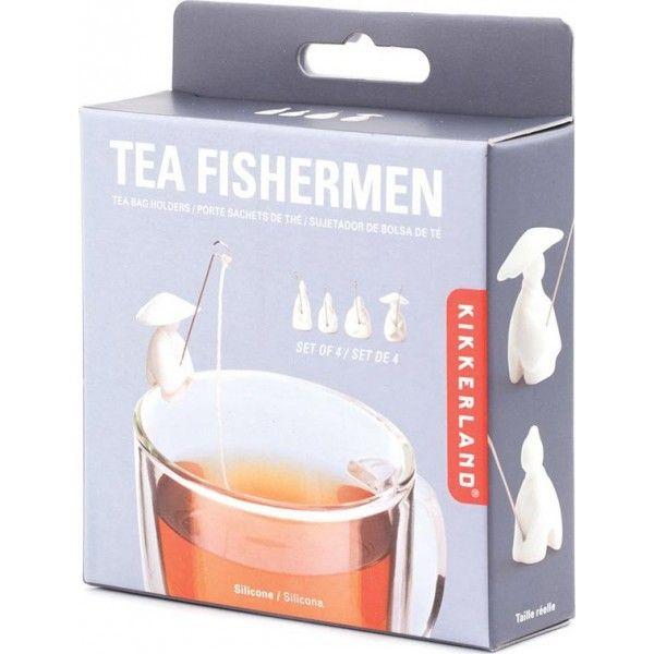 Fisherman Tea Holder Set of 4