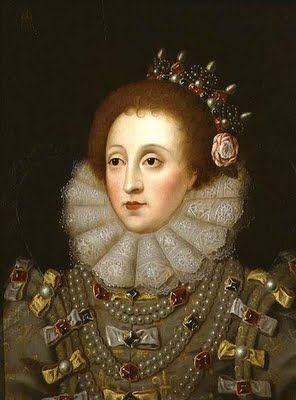 Portrait of Queen Elizabeth I (1533-1603)  by Nicholas Hilliard (ca. 1547-1619)