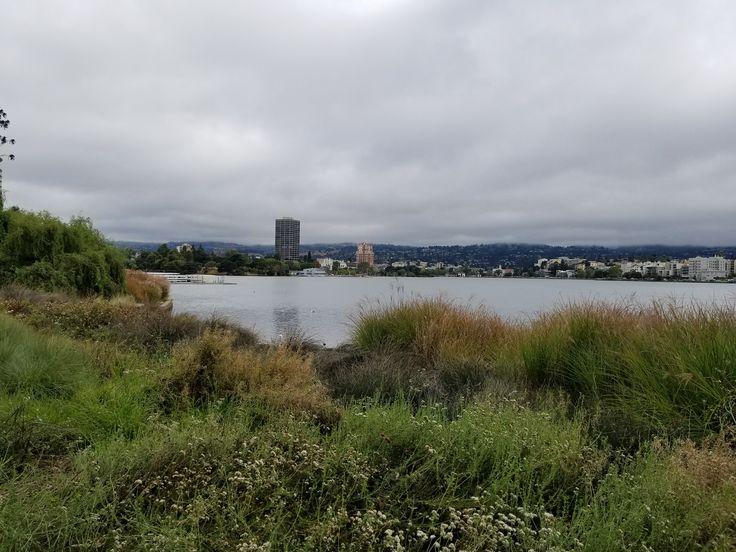 Touring 'New' Lake Merritt, Oakland, CA -largest inner city salt water lake
