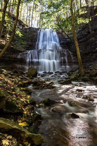 Sherman Falls in Hamilton Region the City of Waterfalls, #Photography #Waterfalls