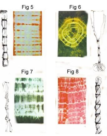 Tie Dye Effects - DIY Craft Project Instructions how to tie to