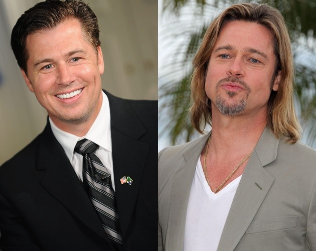Doug Pitt (yes, Brad's brother)