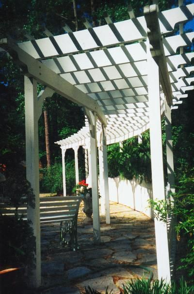 Pergolas & Trellises Photo Gallery Archadeck of Augusta
