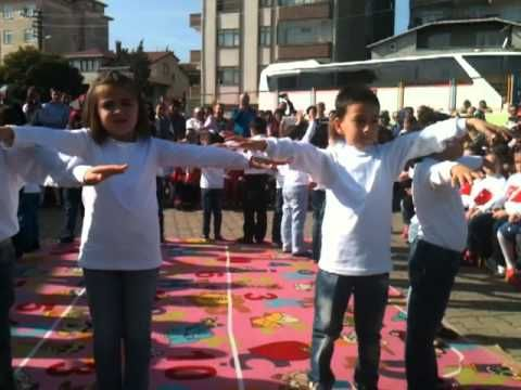 Yedi Adım Dansı Minik Kalpler (Rüya, Melek,İlkem, Emir, Kerem, Sude......) - YouTube
