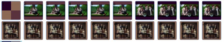 FAMILY PORTRAIT POSES SET  Notes:  • 3 sets of poses  • Set 1: 4 sims  • 4 teleporters in one spot  • Set 2: 5 sims  • 5 teleporters in one spot  • Set 3: 10 sims (need sofa, bench..)  • For set 3, in order...