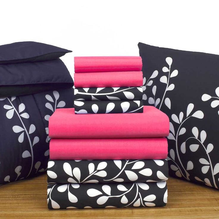 15 best Black with White Vines images on Pinterest Sheet sets
