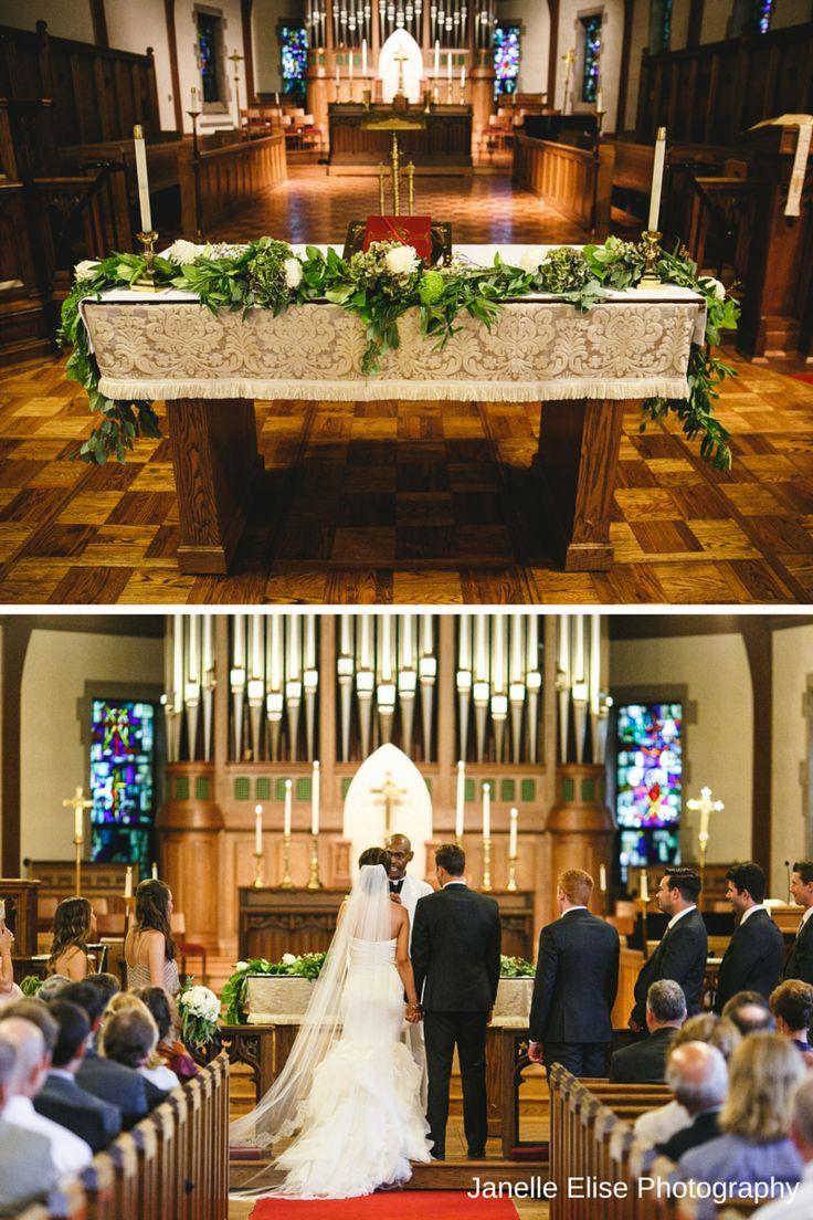 Gorgeous wedding at St Paulu0027s Episcopal Church