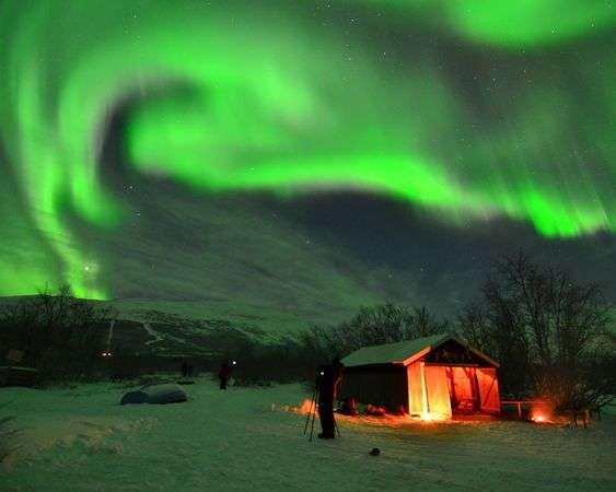 Incredible Daybreak Photography  The National Geographic Team Captures the Norway Aurora