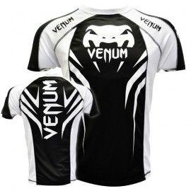 """Venum """"Electron 2.0"""" Walkout Dry Tech T-shirt - Black/White  size XL"""