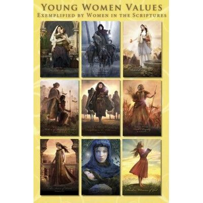 Real Hero Posters.  I love these.: Heroes Posters, Cards Sets, Girls Camps, Young Women Values, Scriptures, Yw Values, Young Woman Values, Young Women'S, Mormons
