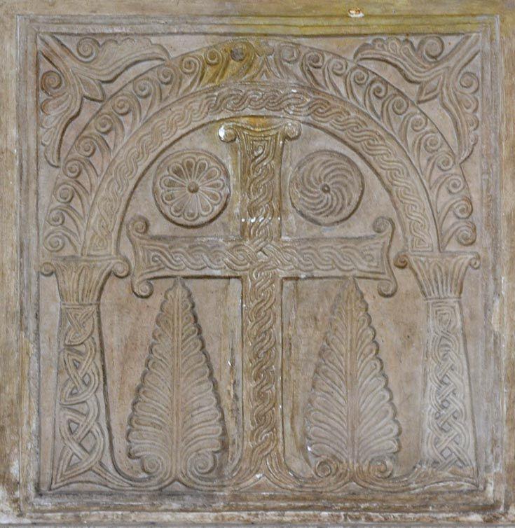 ВИЗАНТИЯ В КАРТИНКАХ - Рельефы с орнаментом из старых римских церквей (pluteo) - 4