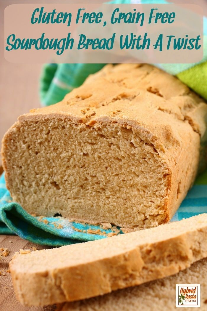 Gluten Free Grain Free Sourdough Bread With A Twist Recipe