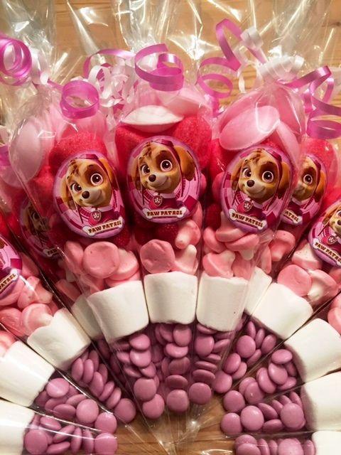 10 x Paw Patrol Skye Sweet Cones by SweetMafia on Etsy