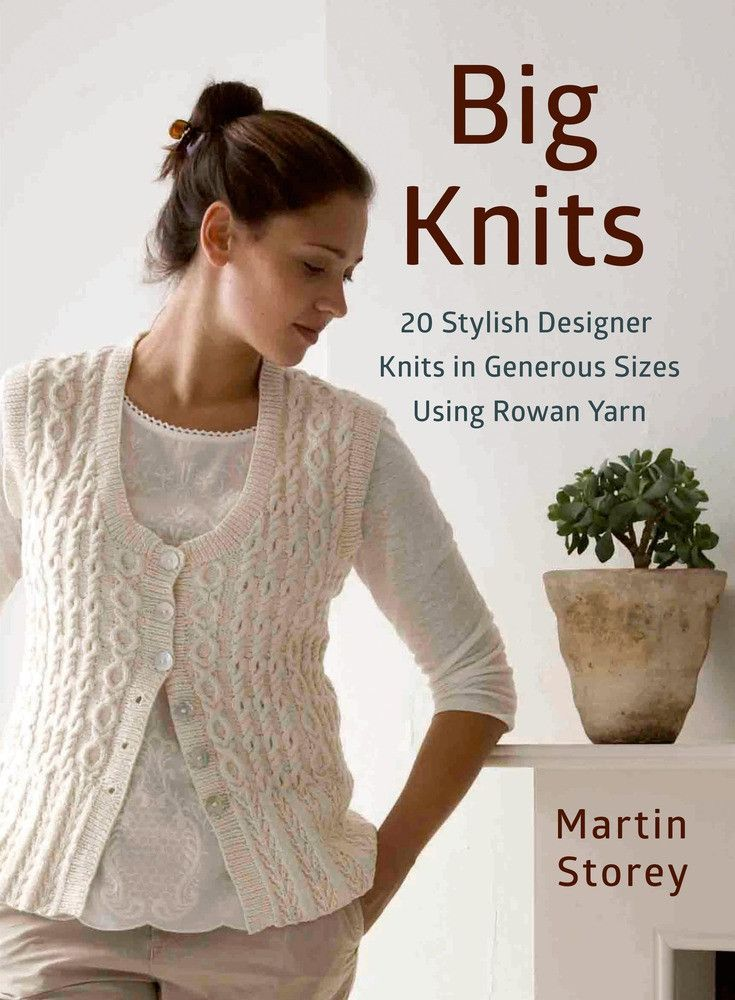 Looking for plus-size knitting patterns to suit your contemporary style? Acclaimed Rowan designer Martin Storey is back with twenty stylish, generously-proportioned knits. These beautiful designs are