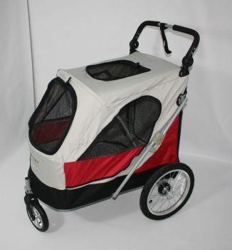 Gabriele Zechel - Hundekörbe, Le - Hundekinderwagen Aventura XL 105 x 70 x 112 cm bis 45 kg